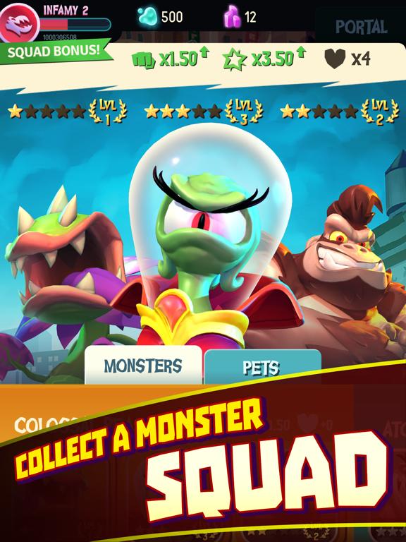 I Am Monster: Idle Destruction screenshot 9