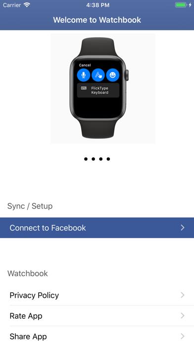 download Watchbook for Facebook apps 1