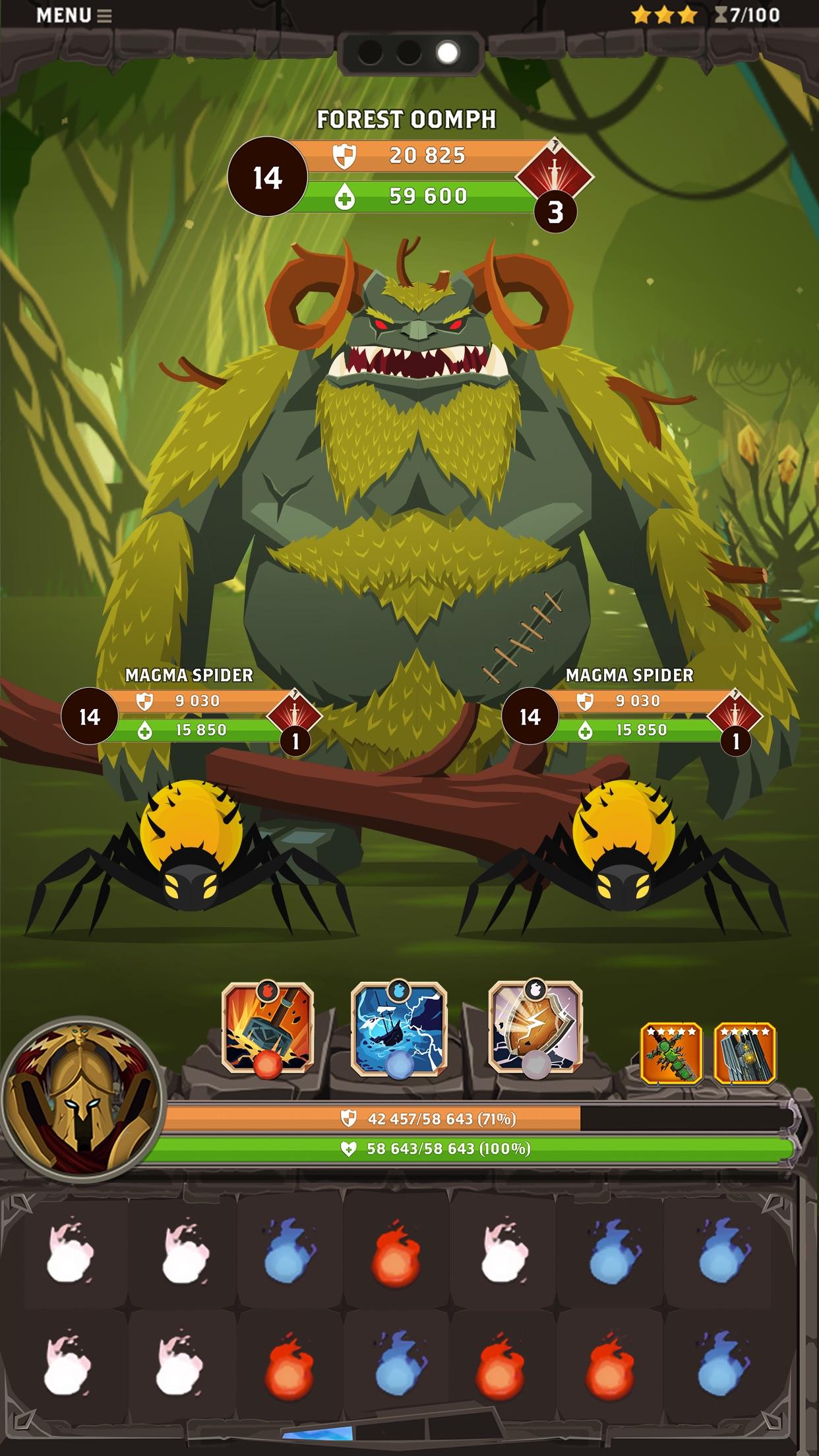 Questland: Turn-based RPG Screenshot