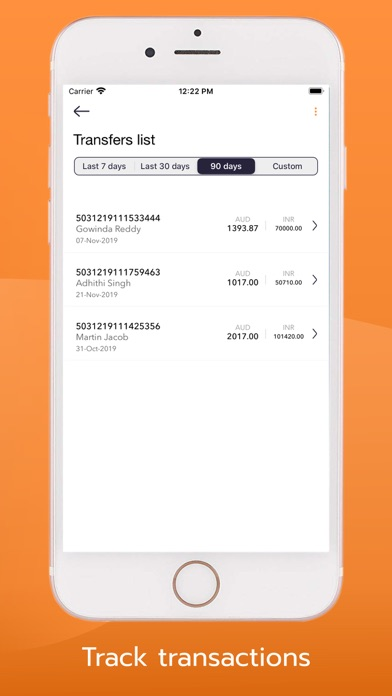 Phoenix Money Transfer screenshot four