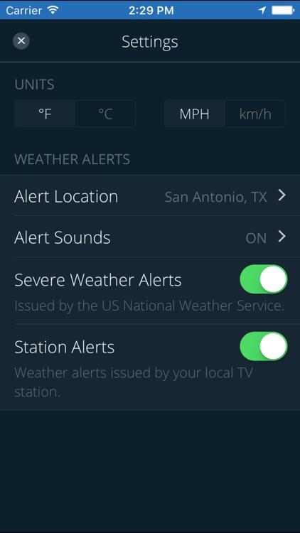 WOAI 4 Zone Weather screenshot-3