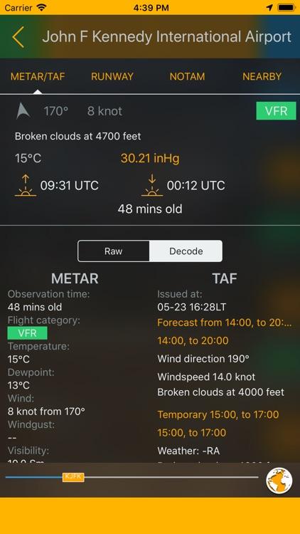 Easy Aviation Weather - WX screenshot-0