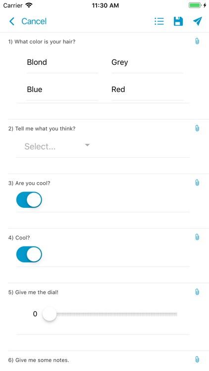EZFORMS Mobile Forms screenshot-6