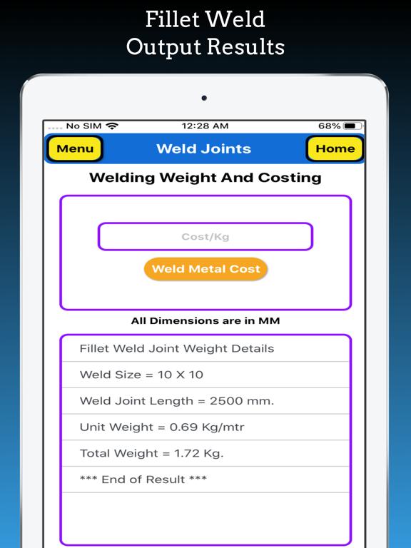 Welding Weight Calculator screenshot 12