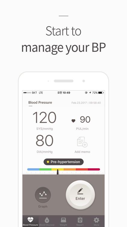 Blood Pressure(BP) Diary