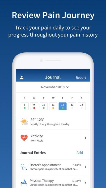 PainScale - Pain Tracker Diary screenshot-3