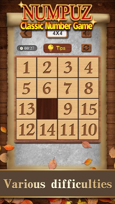 Numpuz:Classic Number Game screenshot 1