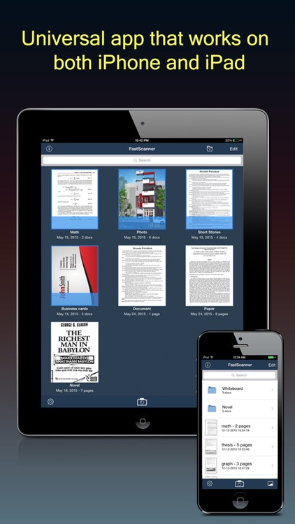 Fast Scanner : PDF Doc Scan screenshot-4