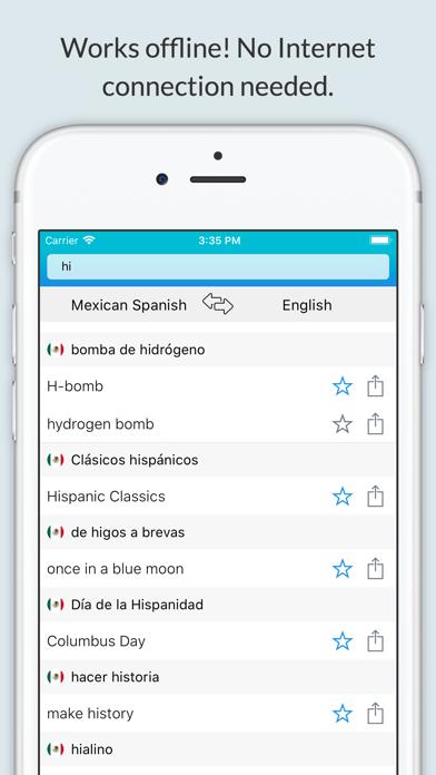 English Mexican Dictionary + screenshot 1