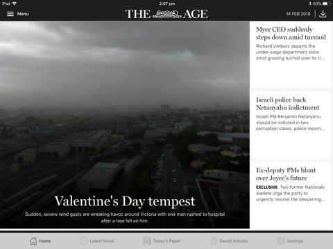 The Age for iPad - náhled