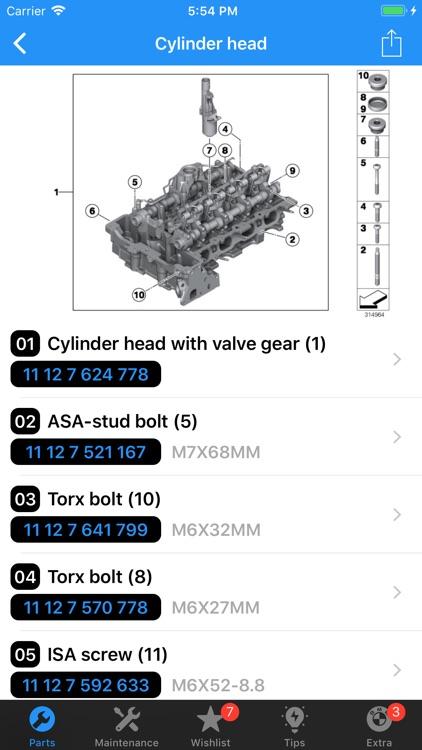 BMW Parts screenshot-5