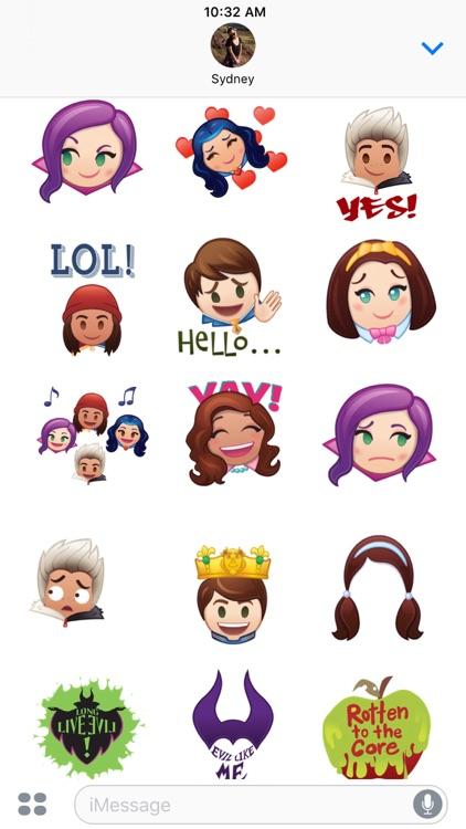 Disney Stickers: Descendants screenshot-3