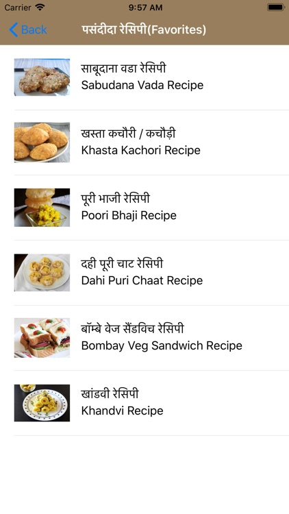 Nasta Recipes in Hindi screenshot-4