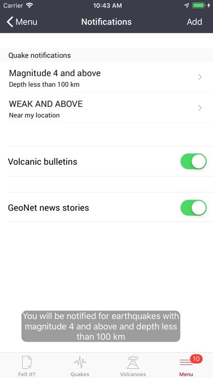 GeoNet Quake screenshot-6