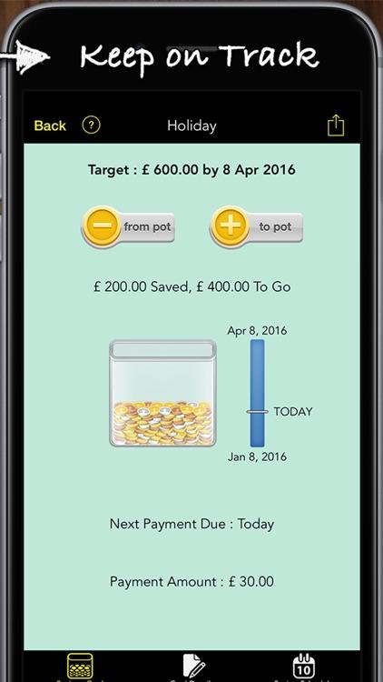 Savings Goals screenshot-4