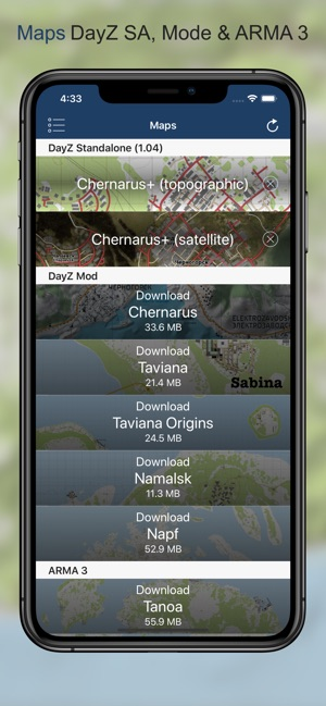 iZurvive - DayZ Map on the App Store