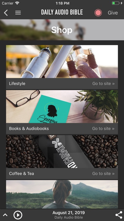 Daily Audio Bible Mobile App screenshot-5