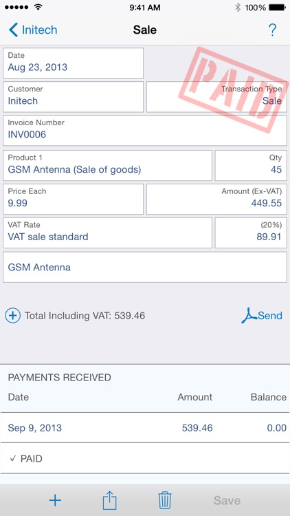 Easy Invoice screenshot-3
