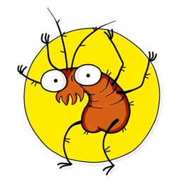 Cute Cockroach Sticker Pack
