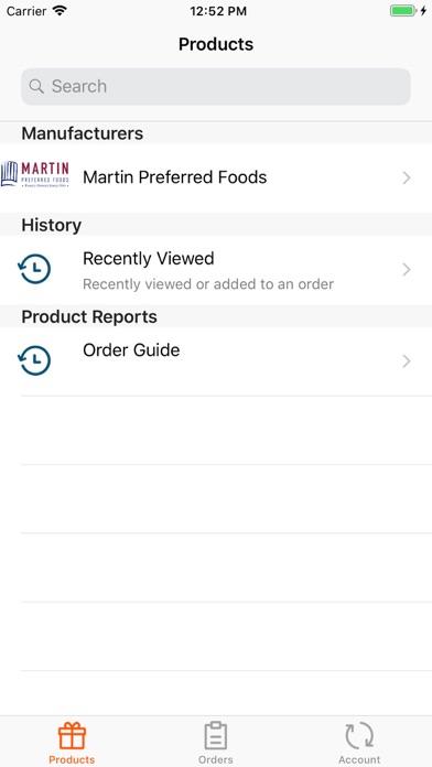 Screenshot #2 pour Martin Mobile Orders