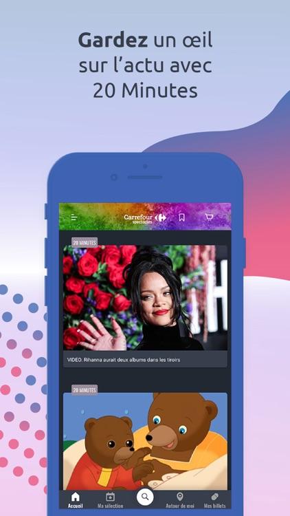 Carrefour spectacles screenshot-7