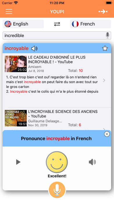 Youpi screenshot #1
