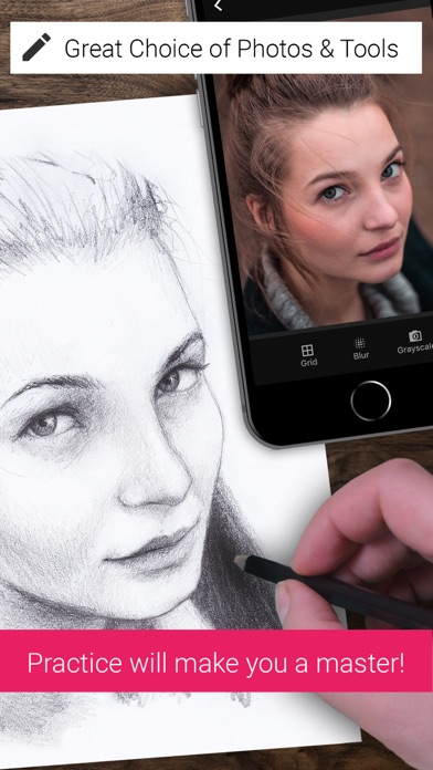 Drawing References Pro review screenshots