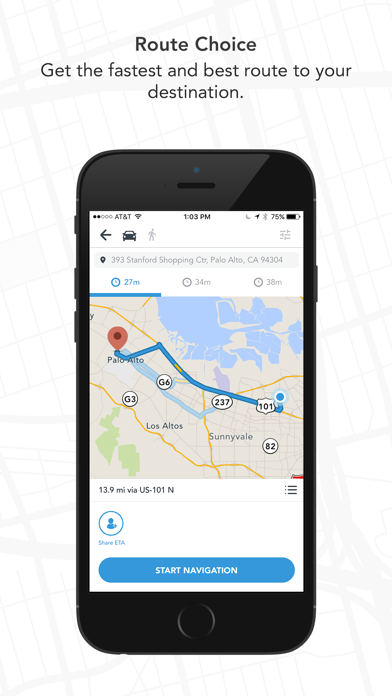 Scout GPS Maps, Meetup, Chat & Social Voice Navigation with Friends screenshot