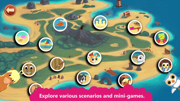 Peppy Pals Beach: SEL for kids screenshot-4