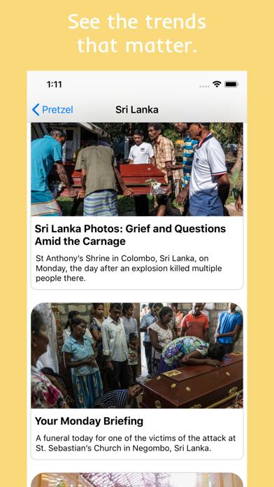 Pretzel News app image