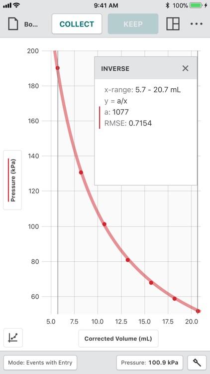 Vernier Graphical Analysis screenshot-4