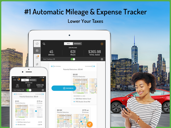 Hurdlr - Mileage Log & Tax Deductions for 1099 Taxes screenshot
