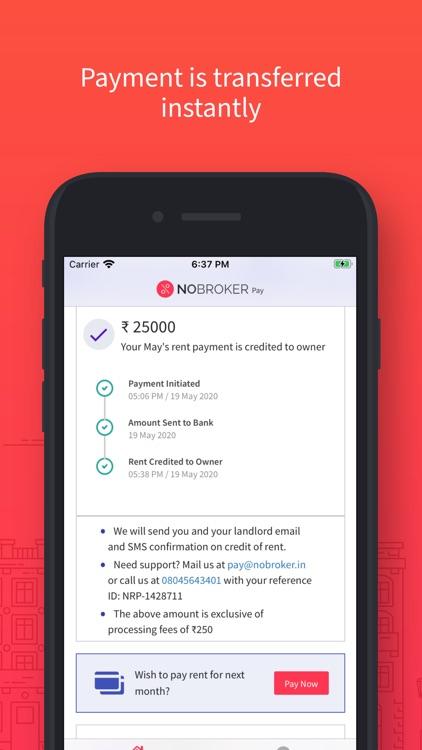NoBroker Pay - Pay Rent Online screenshot-3