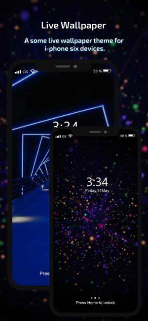 Live Wallpaper Hd Theme Maker En App Store