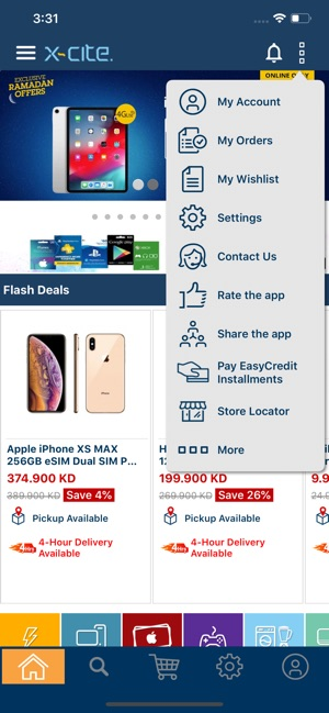 6c542343c  Xcite Online Shopping on the App Store