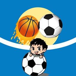 Yi kong Ball Stickers