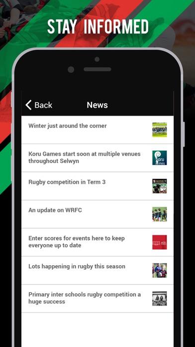 Waitemata Rugby Football Club screenshot two