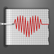 Cardiograph: Heart Rate Pulse Measurement using your iPhone & iPad Camera - Track the Cardio Fitness of your Friends and Family icon