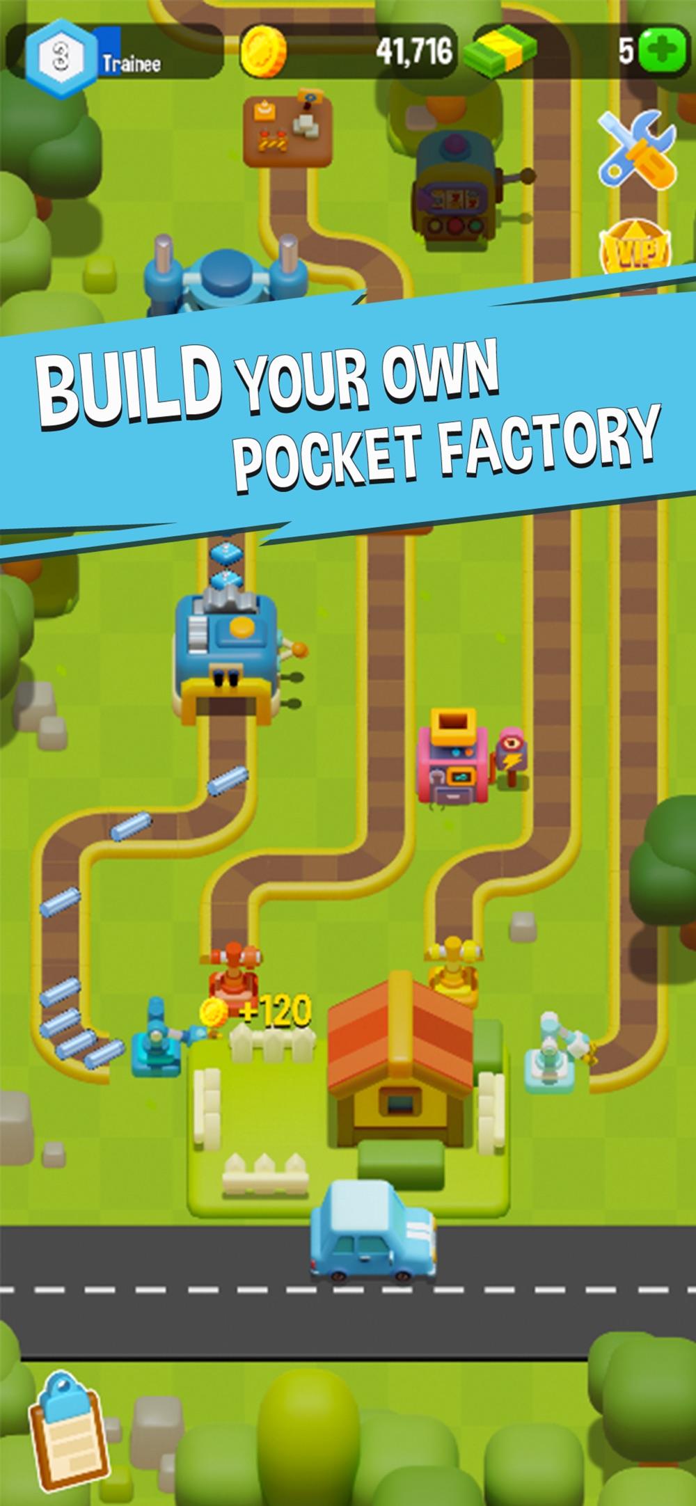 Pocket Factory Cheat Codes