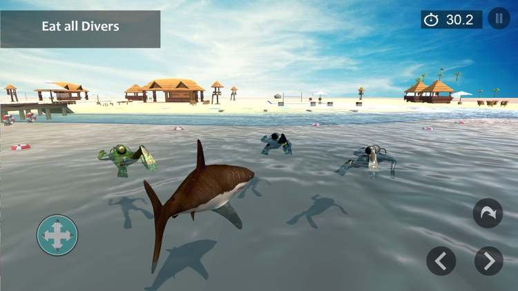 Angry Shark Attack Shark Games