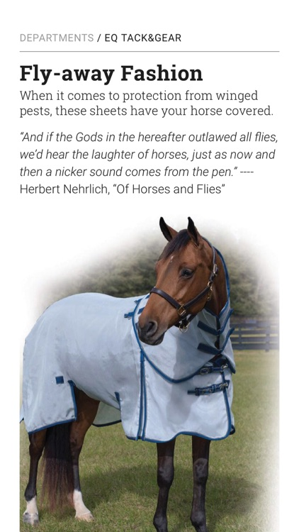 EQUUS Magazine screenshot-1