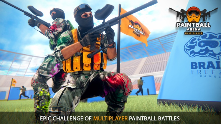 Paintball Battle Spin Grounded