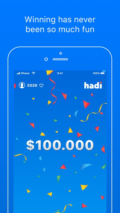 Hadi - Live Trivia Game Show screenshot-4