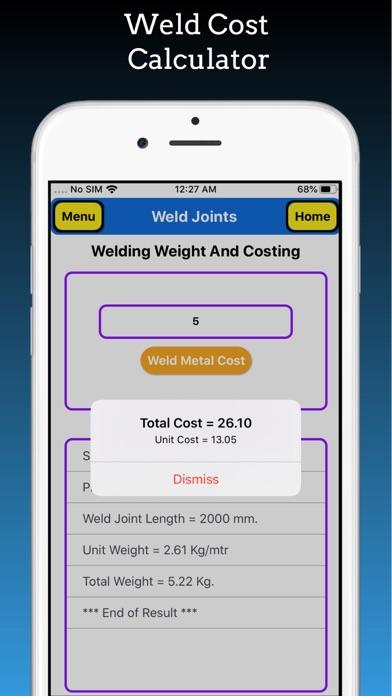 Welding Weight Calculator Pro screenshot 9