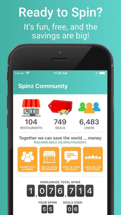 Spinz - Spin for Deals screenshot-3