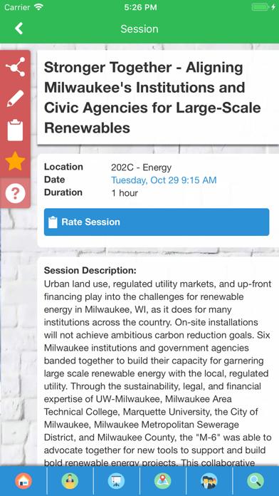AASHE Conferences screenshot three