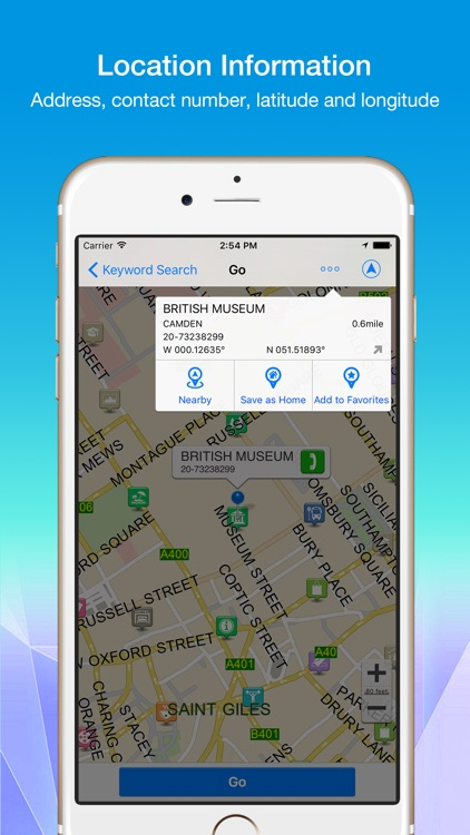 Polnav mobile Navigation screenshot-3