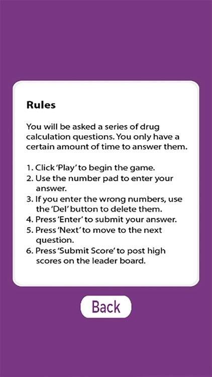 Drug Calculations Game screenshot-4