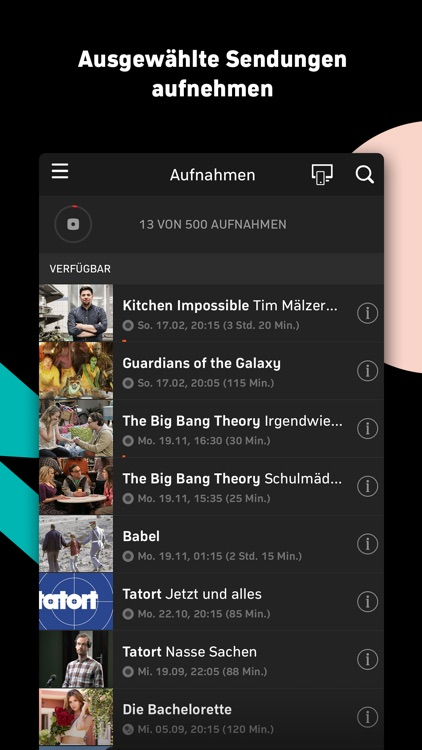 Zattoo - TV Streaming App screenshot-4