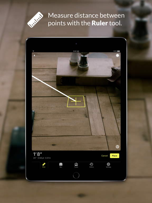Cubit — AR Ruler Toolkit Screenshots